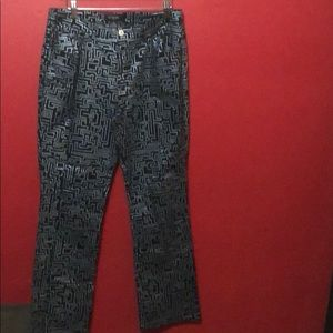 Guess Limited Edition Bootleg Print Pants Size 32